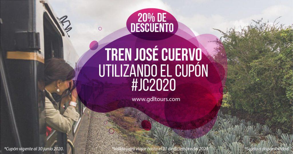 Oferta del Tren Tequila Jose Cuervo Express