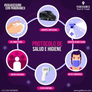 Protocolo de sanidad Tours en Guadalajara